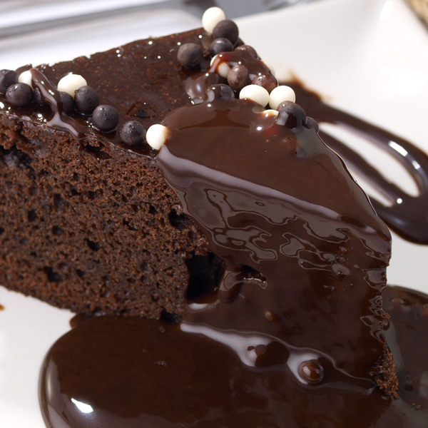 Coffee Grounds In Chocolate Cake