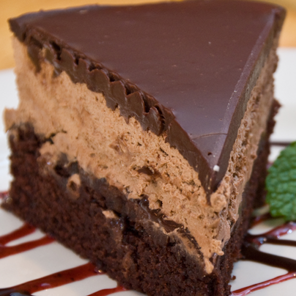 Triple Layer Mousse Cake Recipe