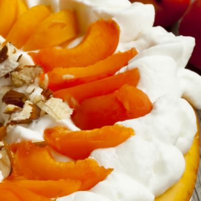 Hot Milk Cake With Fresh Fruit And Whipped Cream Recipe
