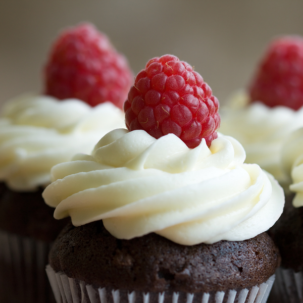 Extreme Chocolate Cupcakes With White Chocolate Frosting Recipe
