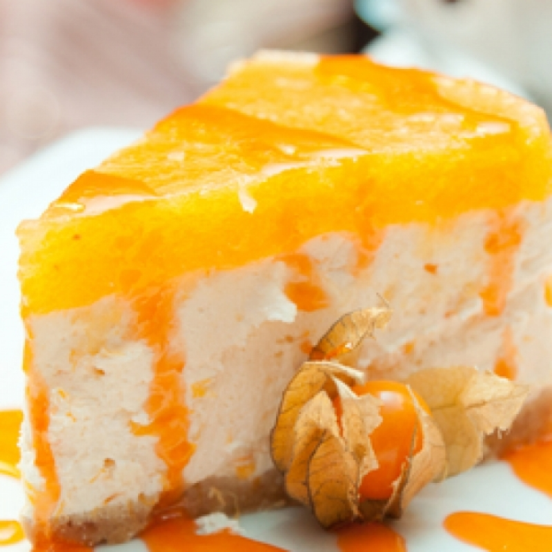 Tangy Orange Cheesecake Recipe