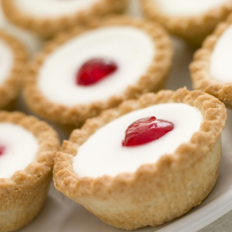 Cherry Bakewell Tarts Recipe
