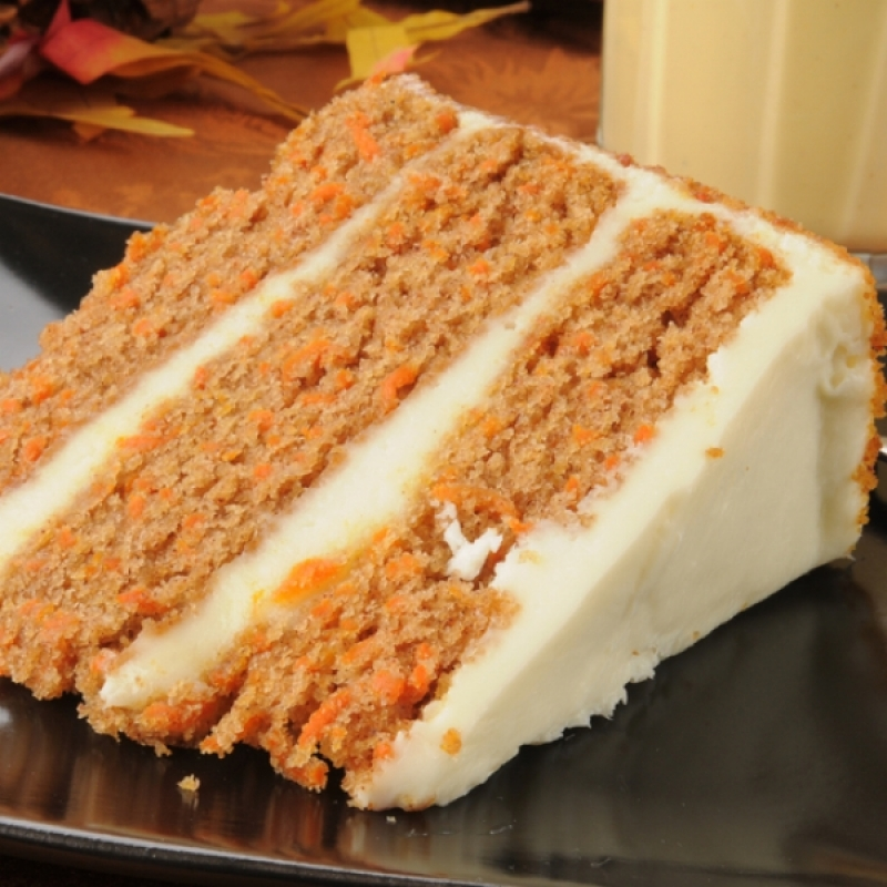 Simple Carrot Cake With Cream Cheese Frosting Recipe