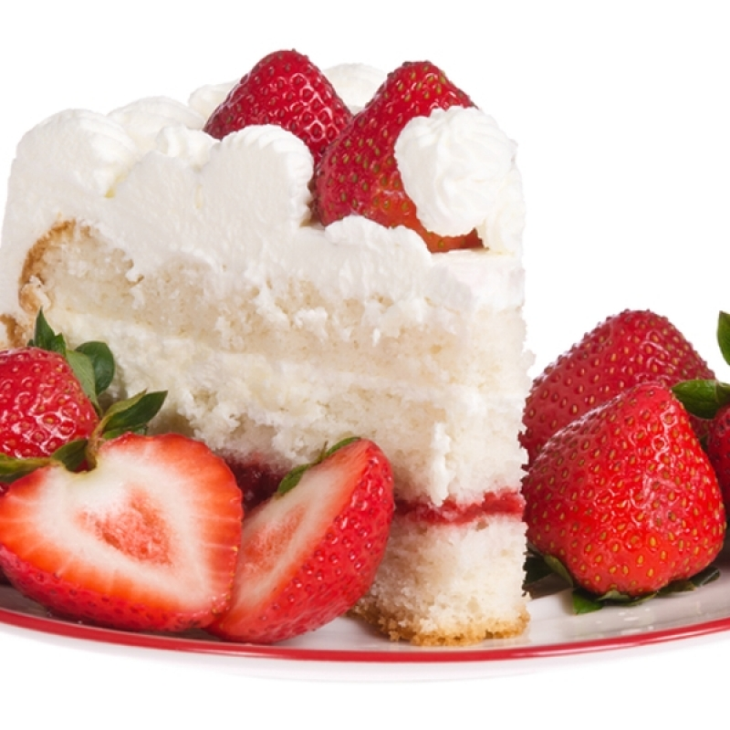 Cool Whip And Strawberry Cake Filling
