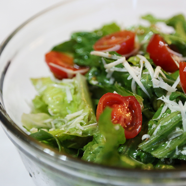 Simple Garden Salad With Dressing Recipe