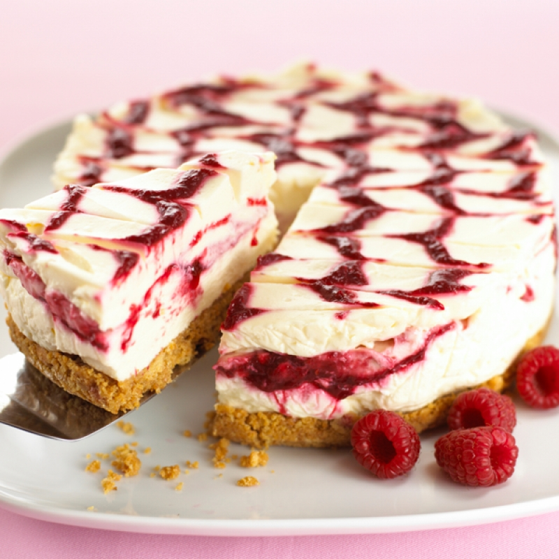 Raspberry Swirl Cheesecake Recipe
