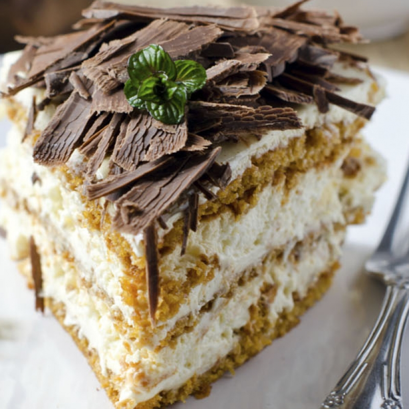 Maple Layer Cake Recipe