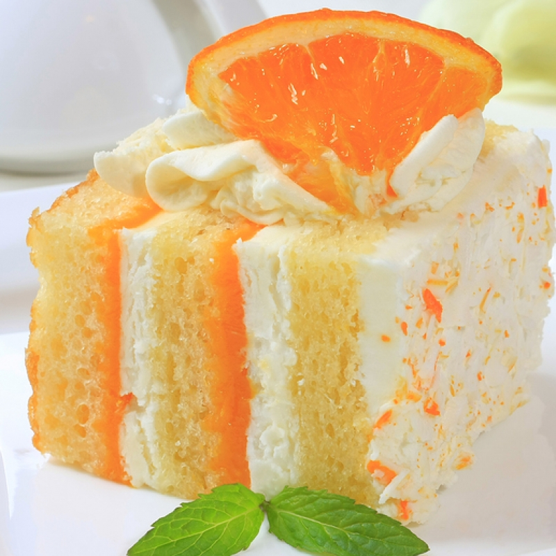 Orange Layer Cake Recipe — Dishmaps