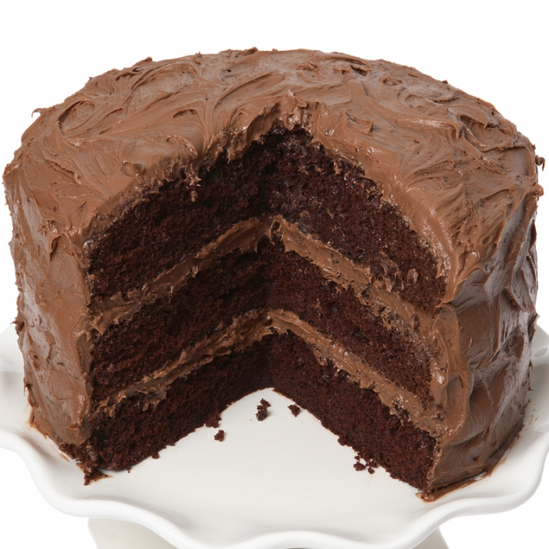Triple Chocolate Fudge Cake Mix
