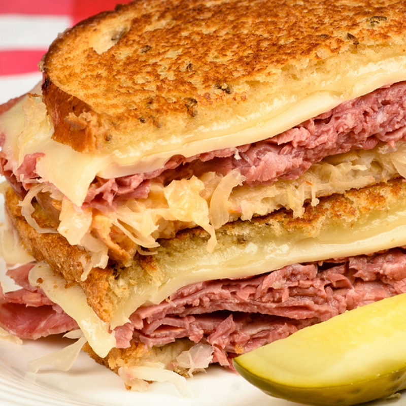 Reuben Sandwich Recipe Related Keywords & Suggestions - Grilled Reuben ...
