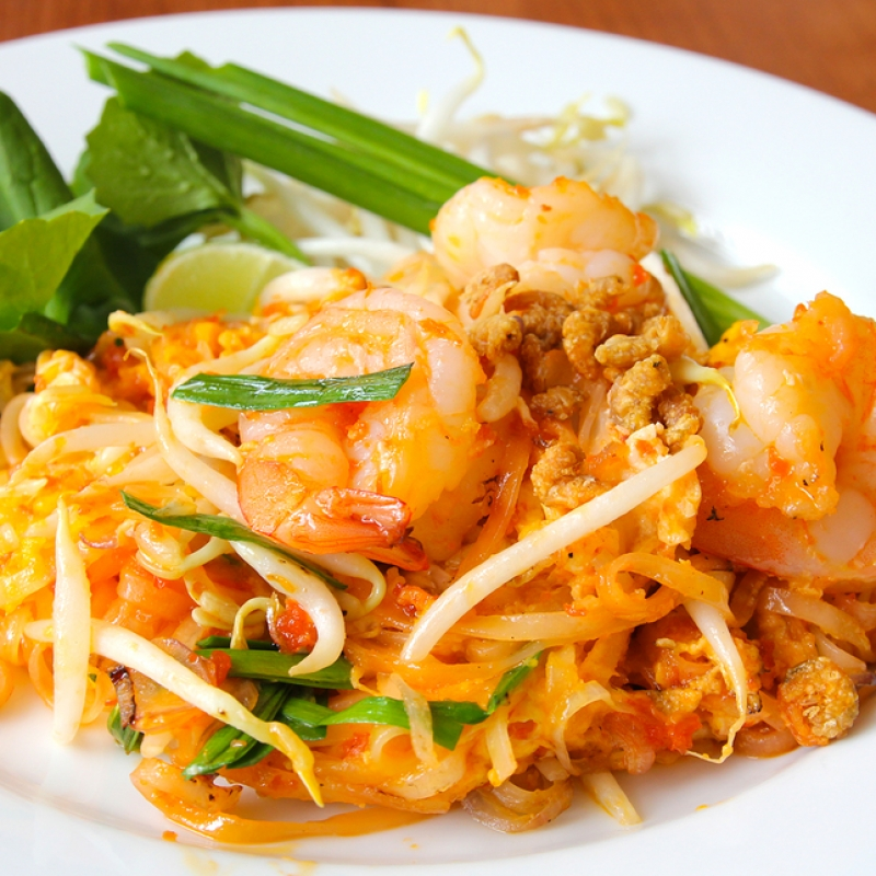 Shrimp Pad Thai Recipe Food Network