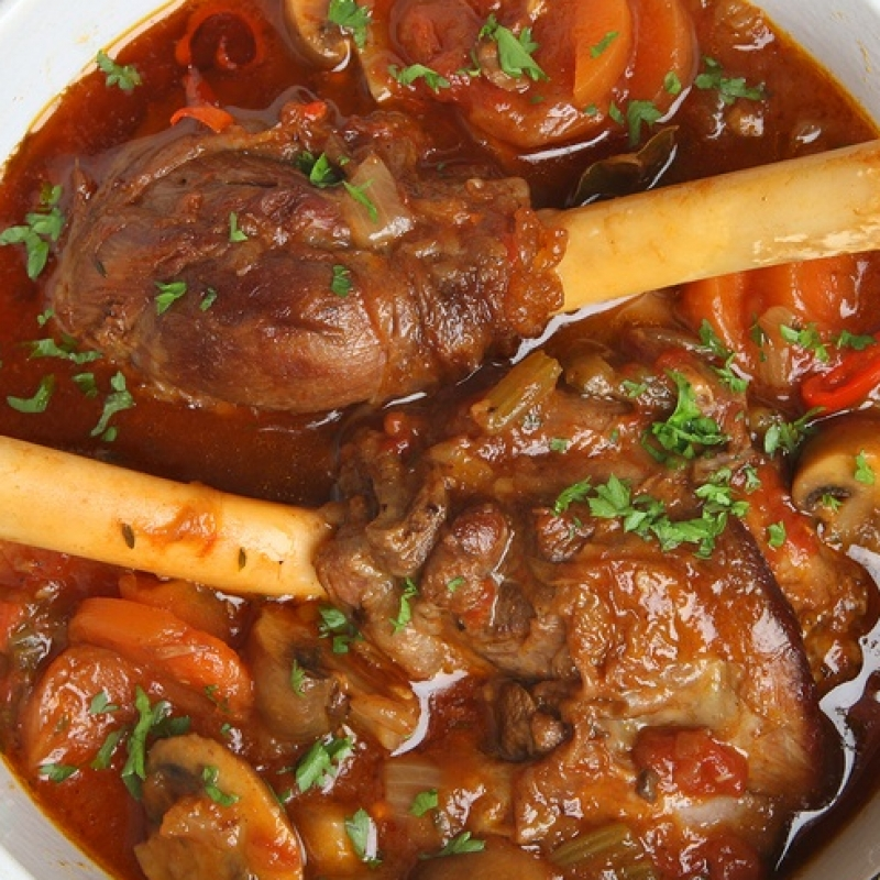 Slow-Roasted Turkish Lamb Stew Recipe — Dishmaps