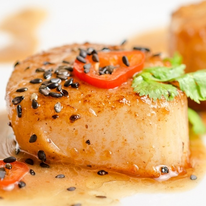 how to cook scallops in a pan fried