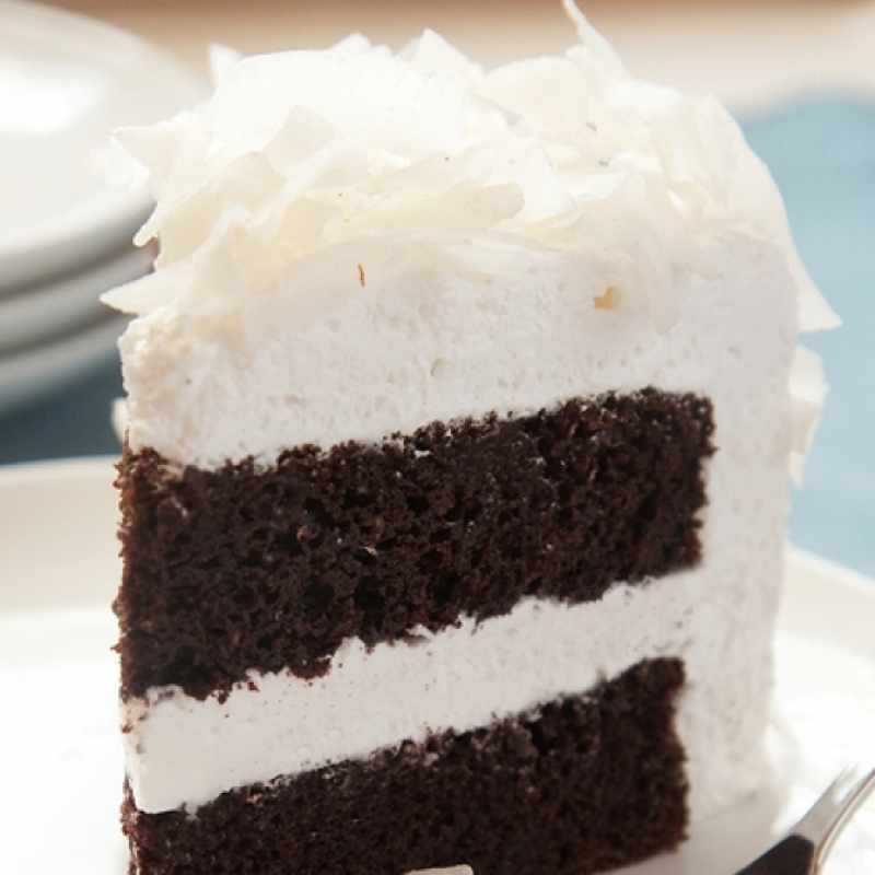 Chocolate Cake And Marshmallow Frosting Recipe