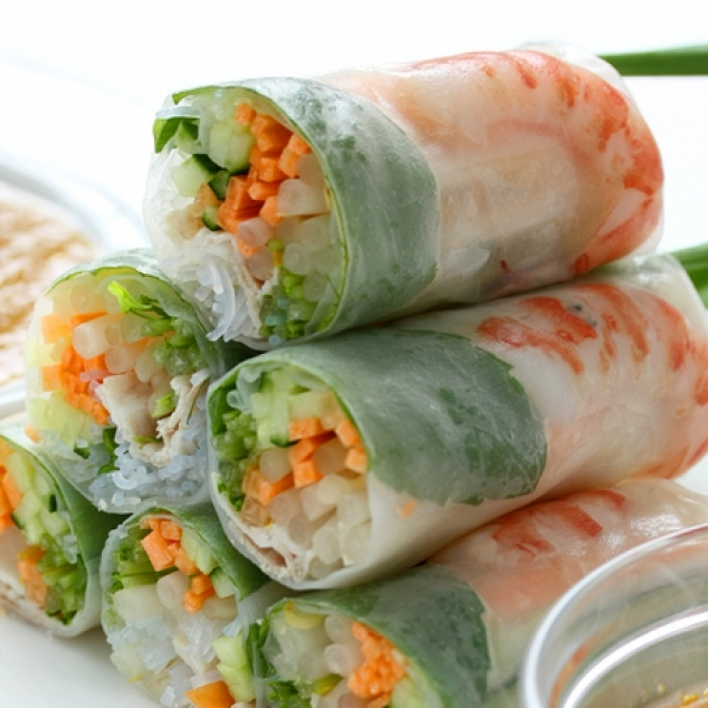 Shrimp Spring Rolls Recipe