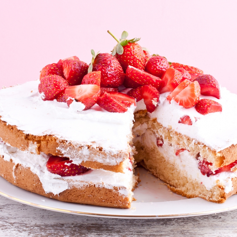 this strawberry shortcake recipe is an old fashioned style of baking ...