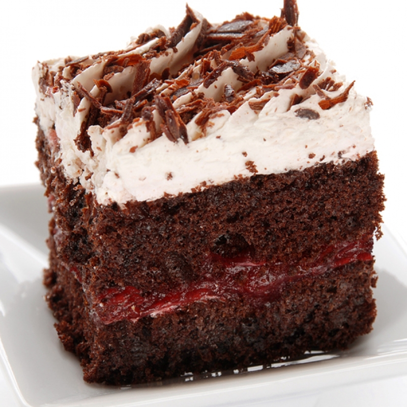 Chocolate Cake With Cherry Filling Recipe