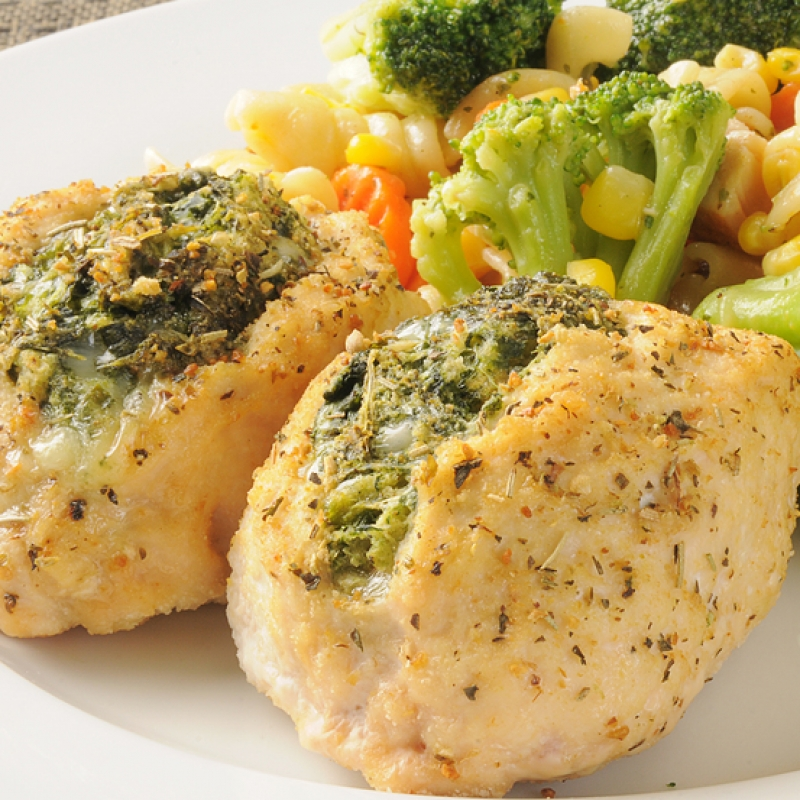 how to cook a frozen stuffed chicken breast