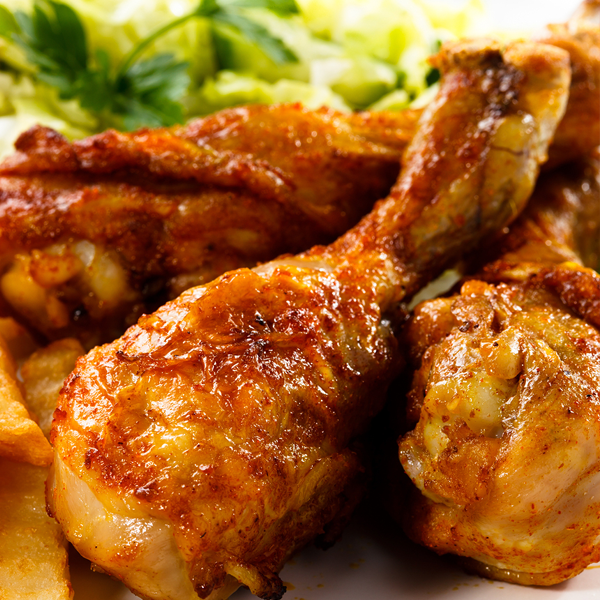 Simple Baked Chicken Drumsticks Recipe