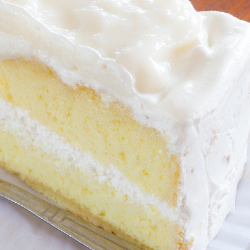 Simple Vanilla Cake With Egg