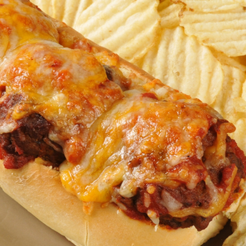 Meatball Sub Sandwich Recipe