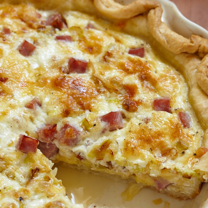 Easy Quiche Recipe — Dishmaps