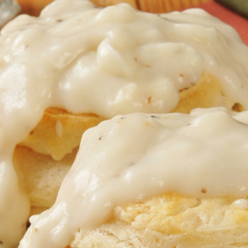 Biscuits And Milk Gravy Recipe