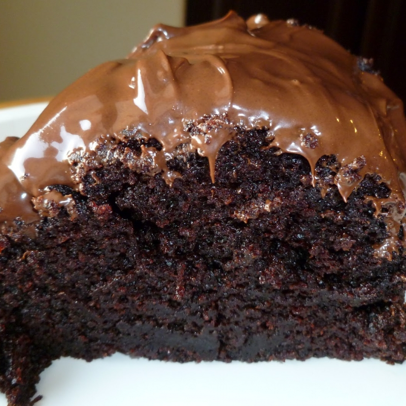 Cocoa Fudge Cake With Chocolate Frosting Recipe