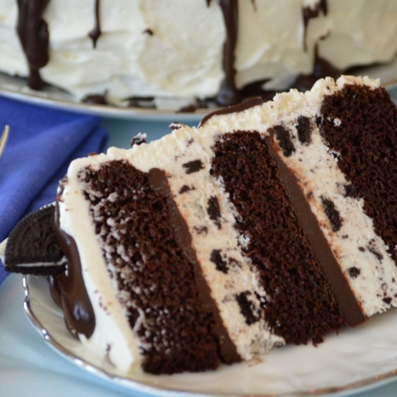 Ice Cream Cake Recipe Cookies N Cream