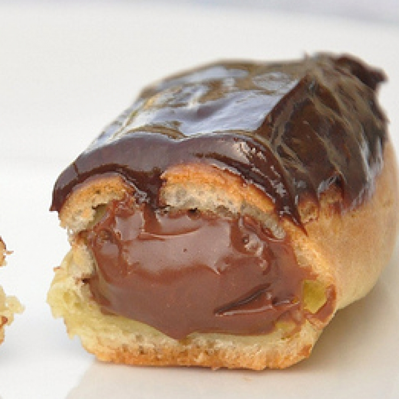 Chocolate Eclairs Recipe — Dishmaps