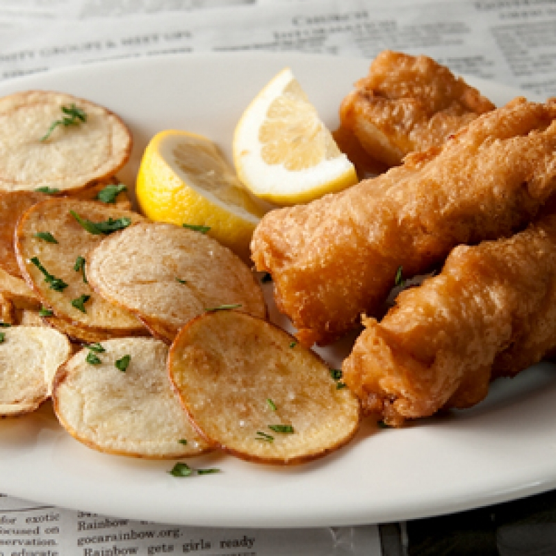 Tiny Kitchen Fish And Chips: Classic Fish And Chips Recipe