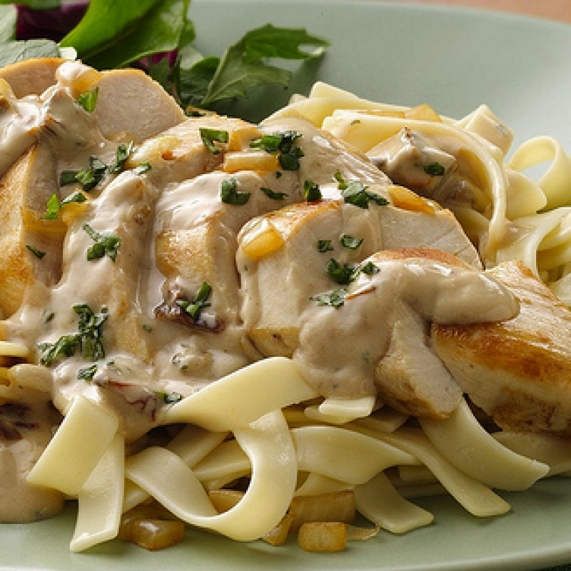 Chicken Fettuccini Alfredo Recipe — Dishmaps