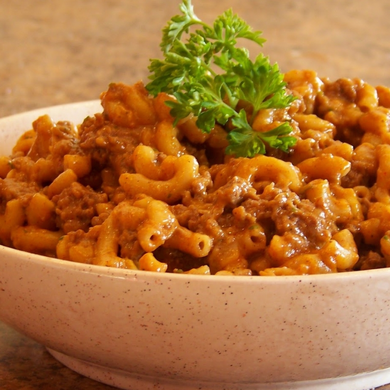 3 Cheese Hamburger Macaroni Recipe