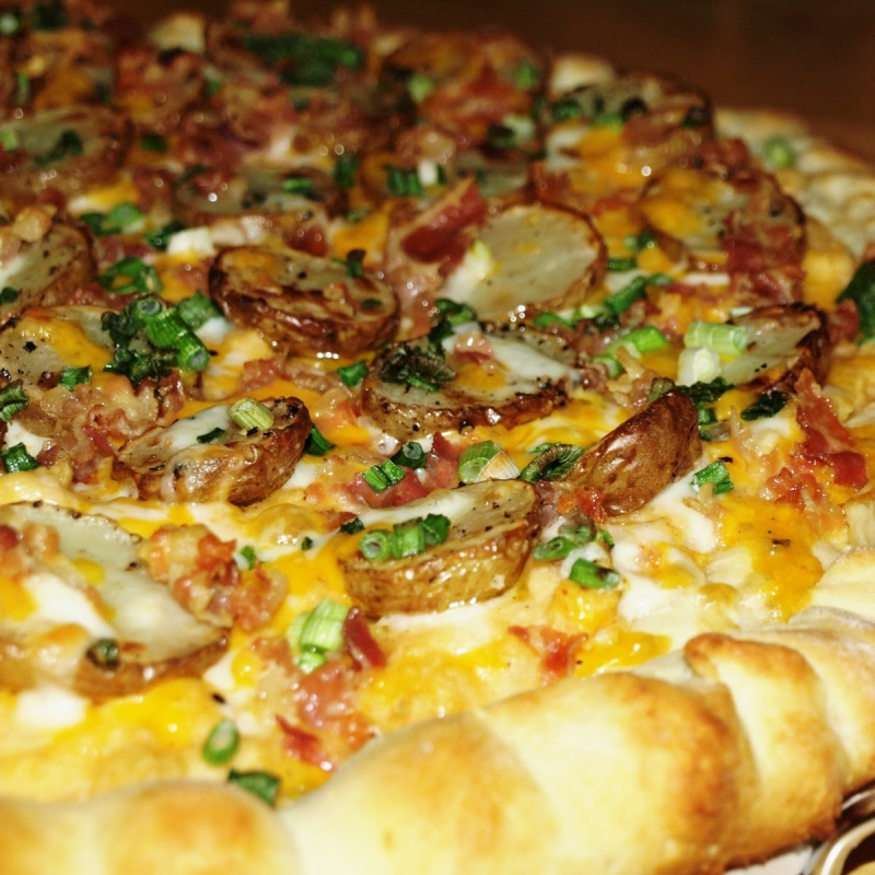 Really Loaded Baked Potato Pizza Recipe