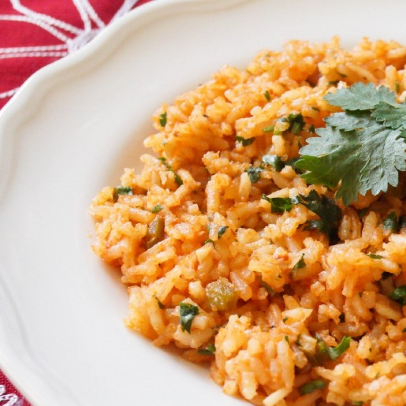 Mexican Red Rice - Arroz Rojo Recipe