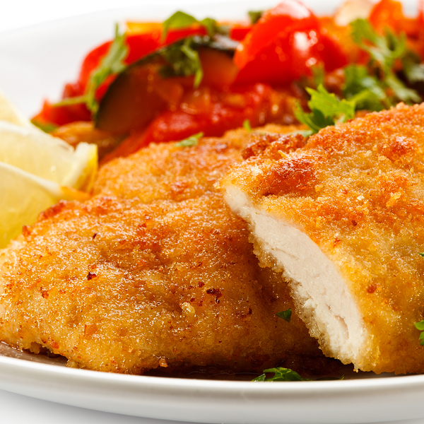 Coated Baked Chicken Breasts Recipe